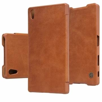 Nillkin Qin Series Leather Cover Case For Sony Xperia Z5 Premium
