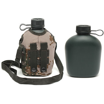 Buy 1L Military Tactical Water Bottle Kettle Army Camo Drinking Camping Hiking Hunting
