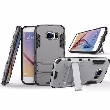 2 em 1 armadura à prova de choque titular telefone caso de volta escudo protetor Suporte de montagem para Samsung Galaxy S7 Edge