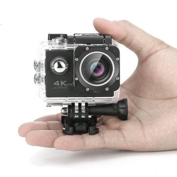 Capteur sony imx179 4k 2.0inch 170 hd grand-angle wifi le sport dv avec accessoires F60R tekcam