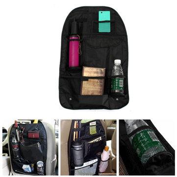 Car Back Seat Storage Bag Tidy Multi Pocket Hanging Organiser Travel Holder