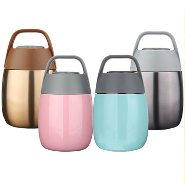 Vacuum Insulated Stainless Steel Lunch Box Double Layer Bento Box Food Container Thermal Cooker 1121984