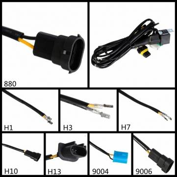 HID Xenon Relay Harness Wiring Controller H1 H3 H4 H7 H10 H13 880 9004 9005 9006