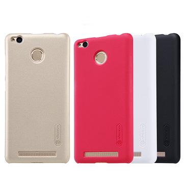 NILLKIN esmerilado mate escudo pc caso trasero duro para Xiaomi redmi 3 Pro Redmi 3S