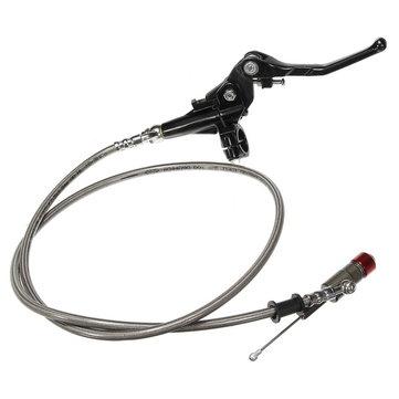 7 / 8inch 1.2м гидравлический тормоз рычаг сцепления главный цилиндр для мотоцикла квадроциклы яму грязи велосипед
