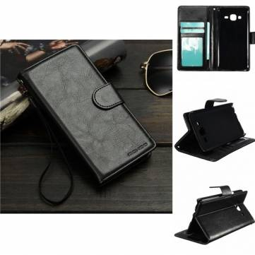 Buy Mohoo Flip PU Leather Wallet Card Case Cover Stand Samsung Galaxy J5