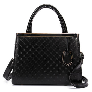 Original Womens PU Leather Handbag Messenger Satchel Zipper Tote