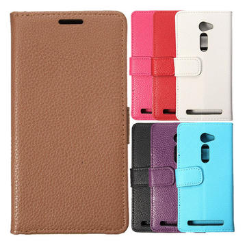 Buy Magnetic Flip PU Leather Wallet Stand Cover Case ASUS Zenfone 2(ZE500CL) 5 Inch