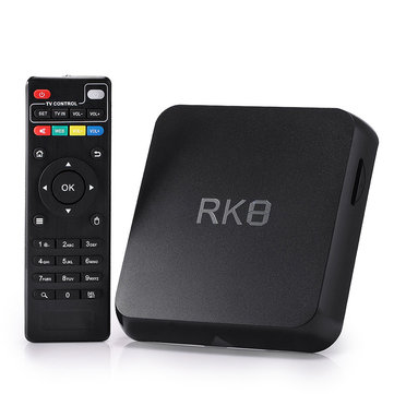 RK8 Android 5.1 RK3368 Octa Core 2GB\/8GB 2.4GHz\/5.8GHz WiFi 1000M BT 4.0 HDMI TV Box Android Mini PC
