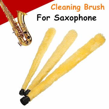 Douce brosse de nettoyage pad de nettoyage de fibres saver pour sax saxophone partie d'outil durable