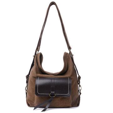 Buy Women Canvas Bags Casual Backpack Messenger Girls Shoulder Crossbody