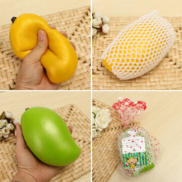 LeiLei Squishy 18cm Mango Slow Rising With Original Packaging Tag Squishy Collection Gift