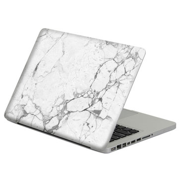 Removable Marble Pattern Self-adhesive Front &Black Skin Sticker For Macbook Air 11 Inch