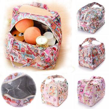 Portatile più fresco borsa da viaggio scatola di pranzo al sacco trasportare tote