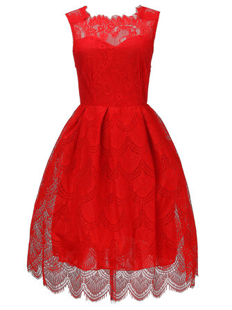 Original Sexy Lace Sleeveless Women Party Ball Gown Women Mini Dress