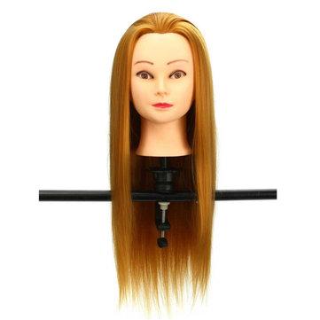 30% des modèles de tête de formation de mannequin or vrais cheveux cheveux salon de coiffure coupe de cheveux