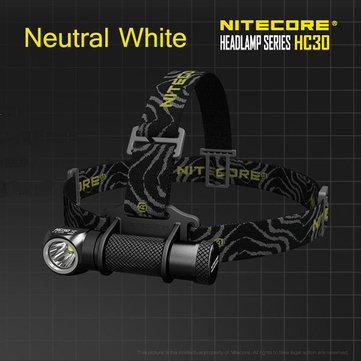 Nitecore HC30 1000LM torcia faro bianco neutro U2 xm-L2