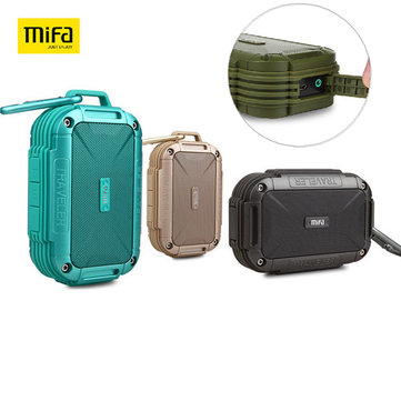 Buy MIFA F7 1500mAh Outdoor Waterproof Portable Hands-free AUX Wireless Bluetooth 4.0 Speaker