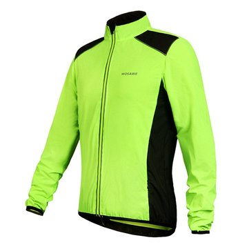 Buy WOSAWE Autumn Long-sleeved Skin Clothes Riding Windbreaker