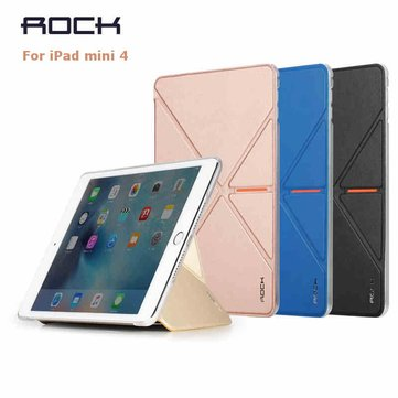 ROCK VITA Series Multi Folding Stand Tablet Case Cover For Apple iPad Mini 4