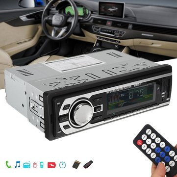 Buy Car MP3 Radio Stereo Audio Player Bluetooth Handsfree In-Dash FM SD USB AUX 12V