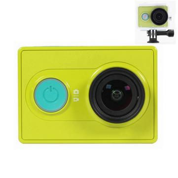 Buy Original XiaoMi Yi Ambarella WIFI Sports Action Camera Green Waterproof Diving Back Case 40M Whit