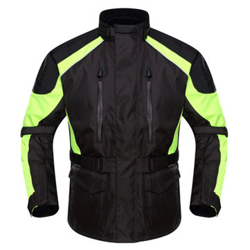 Buy Motorcycle Fully Waterproof Riding Jacket Drop Resistance Clothes DUHAN D-087PRO