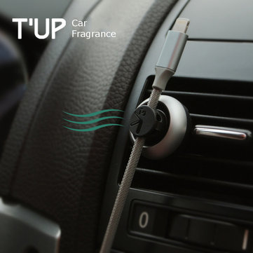 Bcase TUP Car Air Vent Ocean Fragrance Magnetic Cable Clips Wire Cable Organizer