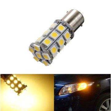 1156 ba15s p21w 27 SMD 5050 Сид LED РВ света автомобиля Лампа 12V