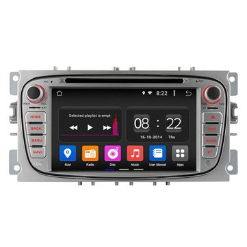 Ownice C180 OL-7296B Quad Core GPS Navigation Radio DVD Player Android 4.4 1024X600 for Ford Focus 2009 2010 2011