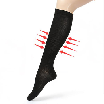 5pairs Black L/XL Compression Socks Relief Varicose Vein Stocking Sports Relief Travel Support