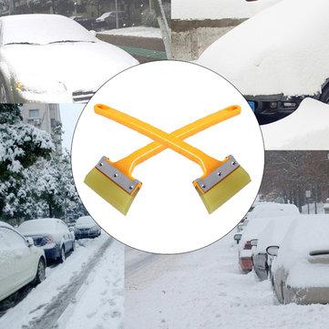 Dicotomanthes aço inoxidável neve pá inverno carro snowboard raspador pá vidro não machucar
