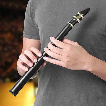 Zebra™ 8 отверстий ключ-бб мини-саксофон карманный саксофон xaphoon с альт мундштук