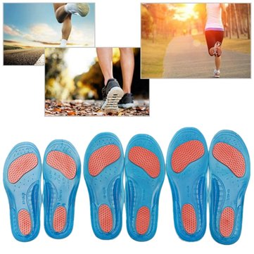 Orthotic Arch Support Sports Insoles Massage Cushions Heels Support Protector for Over Pronation