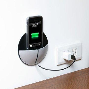 Sostenedor del soporte del teléfono de la pared colgante universal para iPhone 7 más 6 / 6s más 6 6s 5s 5 SE