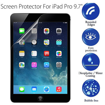 Ultra Slim High Definition Scratch-proof Film Screen Protector For iPad Pro 9.7