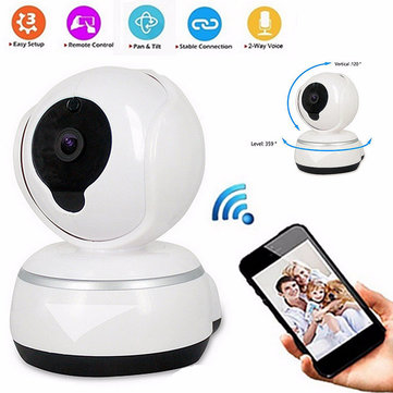 wireless wifi hd720p record camera video surveillance security network baby m. Black Bedroom Furniture Sets. Home Design Ideas