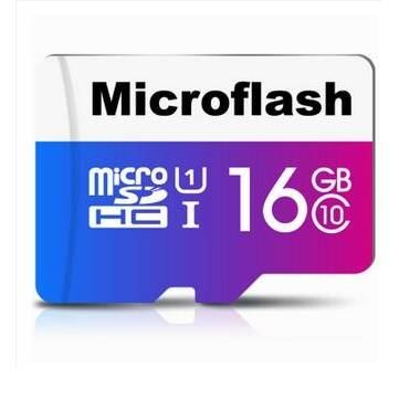 Microflash 16GB Class 10 Micro SDHC Card TF Card Cellphone Memory Card