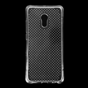 Transparent Silica Gel TPU Fall-resistant Protective Case Cover For Meizu pro 6
