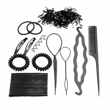 Buy Pro Hair Maker Clip Hairbands Hairpins Styling Accessories Tools Kit