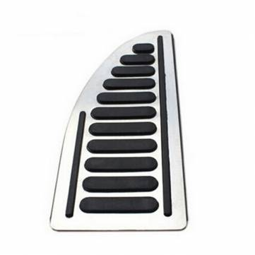 Buy Stainless Footboard Pedal Foot Rest Cover Ford Focus 2 focus 3 Fiesta Mondeo