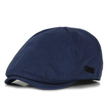 Unisex Cotton Casquette Beret Caps British style Outdoor Casual Hat