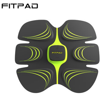 Electronic Abdominal Muscle Building Equipment Body Fitness Toning Belt