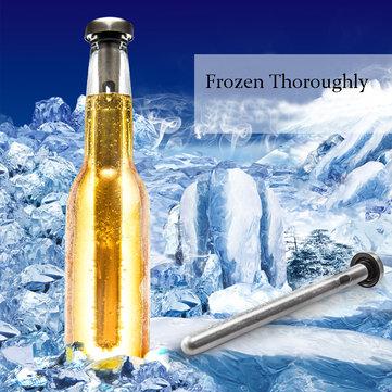 2pcs palo de refrigeración de vino de cerveza de acero inoxidable palo congelado chiller refrigerador