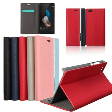 Buy Mohoo Durable Leather Wallet Card Cover Stand Huawei Ascend P8 Lite 5.0''
