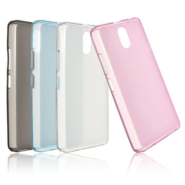 Ultra-thin Soft Gel Translucent TPU Back Cover Case Skin For Lenovo Vibe P1m