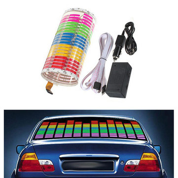 Car Stickers Sound Music Activated Sensor Light Equalizer Glow Modification