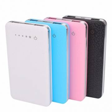 Buy 8000mAh Dual USB Portable External Battery Power Bank Charger Mobile Phone