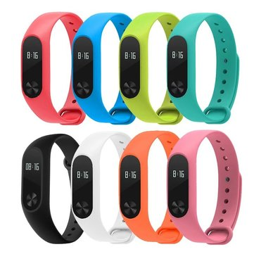 Bakeey™ Replacement Silicone Wrist Strap WristBand Bracelet for XIAOMI MI Band 2