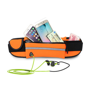 Buy Sports Running Waist Bag Pack Unisex Phone Pouch Anti-Theft Security Case Storage